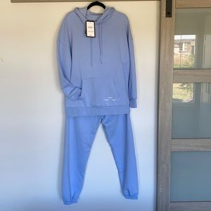 Lazypants Hoodie and Pants Set Size S NWT